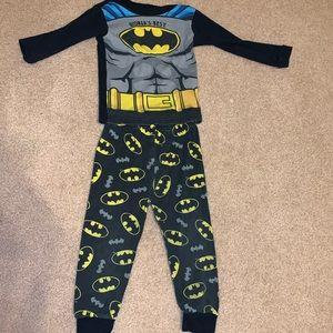 Toddlers Batman Winter pajama set